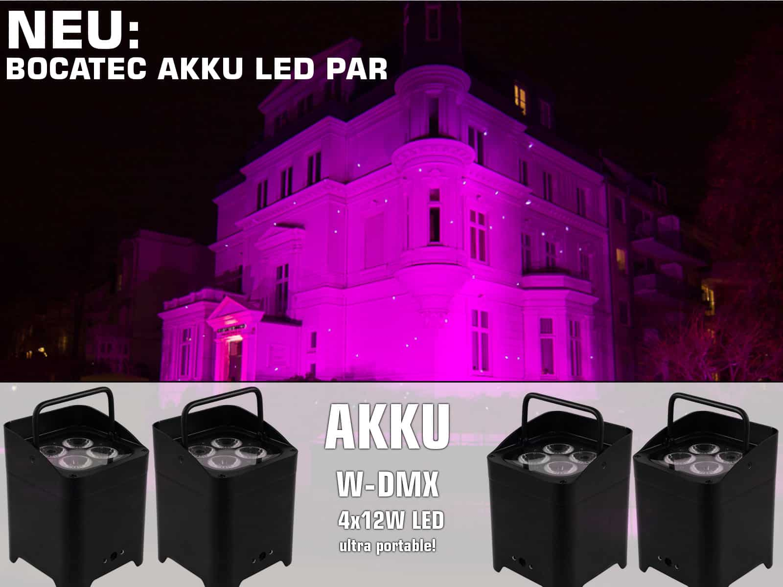 Akku Led, Bocatec