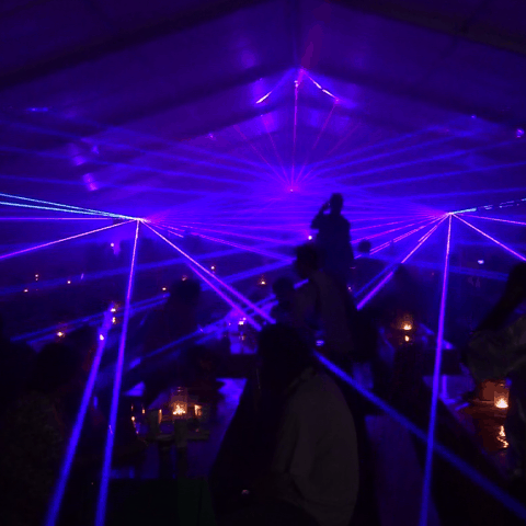 Buchen Sie eine grandiose Lasershow auch für Ihr Event. Schon mit wenig Aufwand verzaubern wir Ihre Gäste