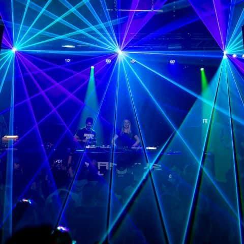 Lasershow  mit Live Jockey mieten