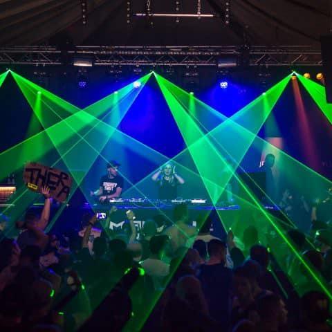 Lasershows jeglicher Art mieten