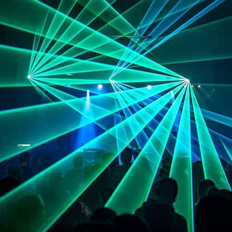 Laser Show rental