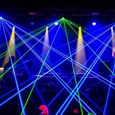 Lasershow kaufen mieten
