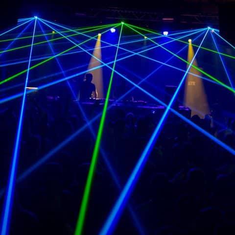 Hardstyle Lasershow