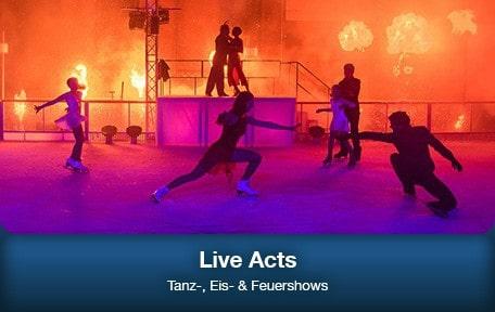 Unsere Live Acts auf einen Blick