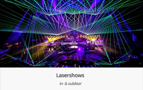 Lasershows Indoor Outdoor