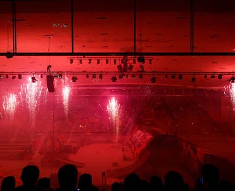 Indoor Pyroshow Night of Freestyle