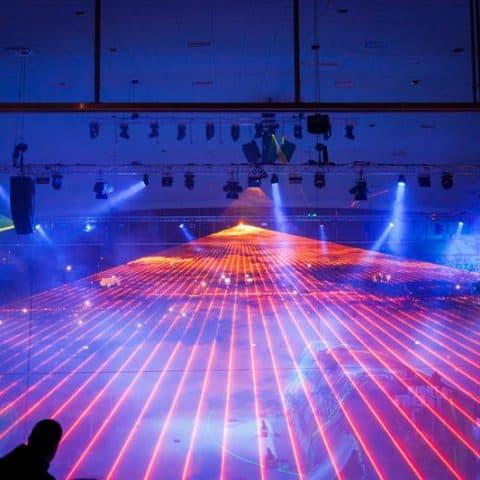 Indoor Lasershow Night of Freestyle
