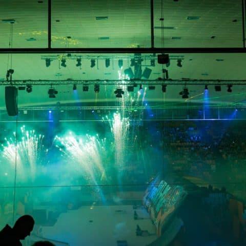 Indoor Spezialeffekte Night of Freestyle