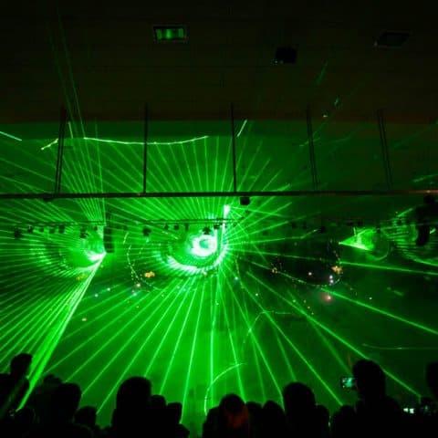 Lasershow Indoor Night of Freestyle