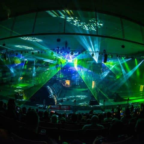 Indoor Lasershow mieten