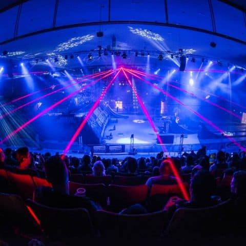 Laserbeamer Indoor Lasershow