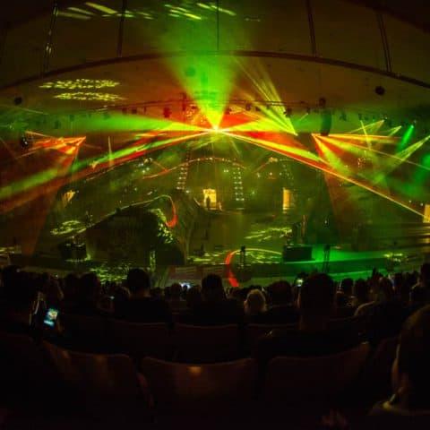 Indoor Lasershow mieten für Ihr Event
