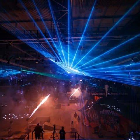 Feuerwerk und Lasershow für Events