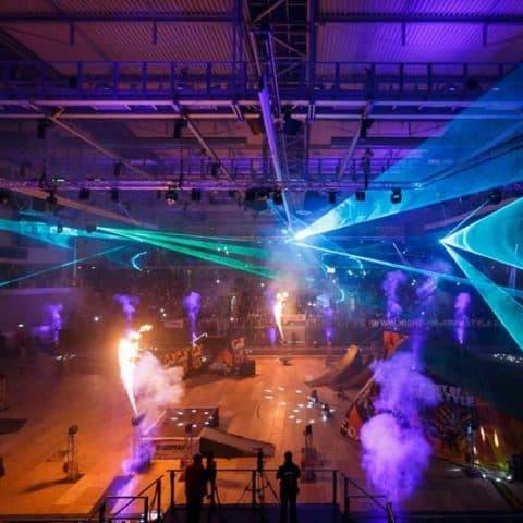 Lasershow Indoor