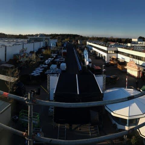 Panoramabild des Gelände