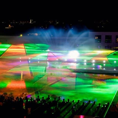 Klare Farben unserer Laserprojektoren