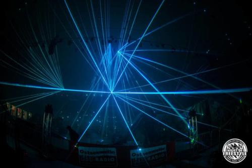 Laserbeamer blau