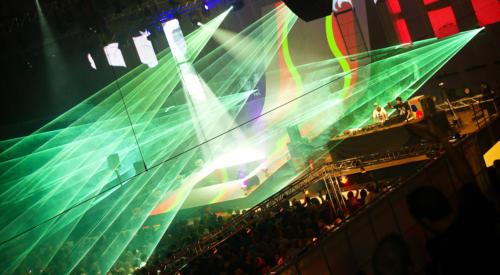 Pioneer Alpha Festival Lasershow