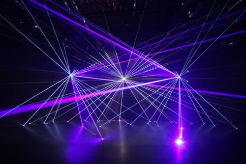 Lasershow Club Installation