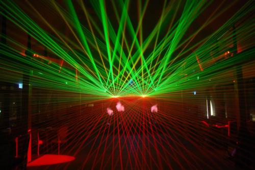 Indoor Lasershow