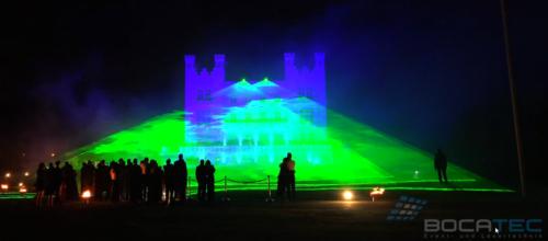 Hochzeitsshow MulitmediashowFeuerwerk Lasershow