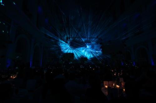 Lasershows für Firmenevents