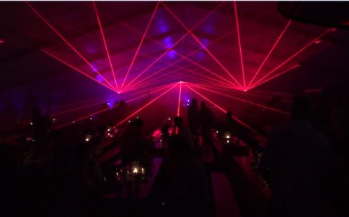 Lasershow mieten