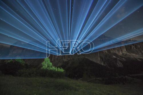 Großflächenprojektionen mit Laser oder Videoprojektoren