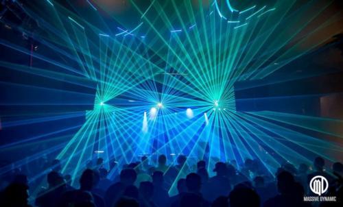 Lasershow für Ihr Firmenevent