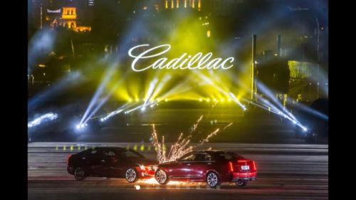 Lasershow Cadillac Shangai