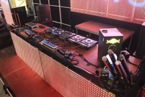 Installation DJ- und Laserequipment