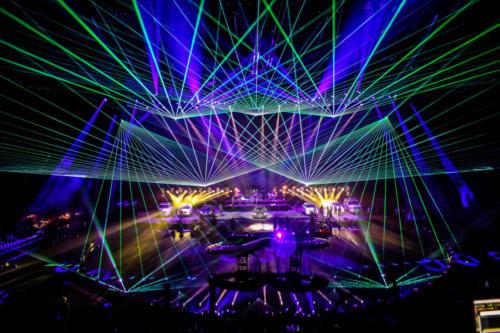 Autopräsentation Laser- & Lightshow