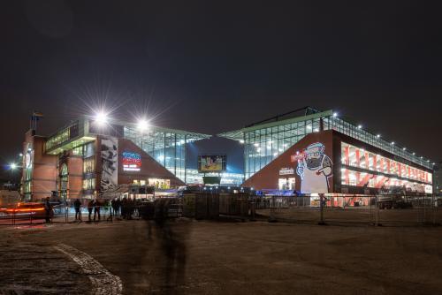 Stadion Projektionen